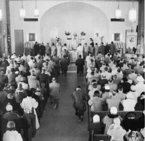 Our church in the late 1950's.