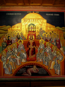 The Nicaean Church Fathers, the authors of the definition of our faith.